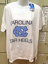 NCAA NORTH CAROLINA TAR HEELS WOMENS SHORT SLEEVE SHIRT  SIZE XL NEW