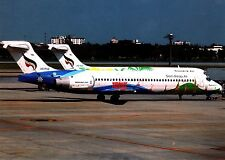 SIEM Reap Airways, Boeing 717-231, cartolina