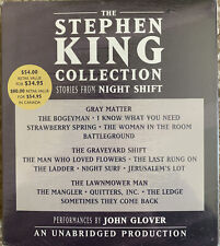 The Stephen King Collection : Stories from Night Shift by Stephen King 10 CD