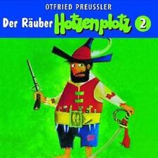 """OTFRIED PREUSSLER """" DER RÄUBER HOTZENPLOTZ 02"""" CD NEU"""