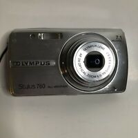 Olympus Stylus 760 7.1MP Digital All Weather Camera No charger