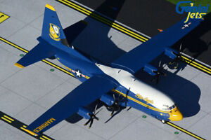 GEMINI JETS US MARINES BLUE ANGELS  C-130-J 1:200 DIE-CAST G2USM921 IN STOCK