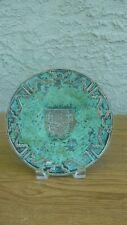 New ListingGraziella Laffi Peru Wall Plate Copper Enamel Sterling Silver 1950 Mcm
