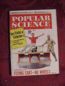 POPULAR SCIENCE Magazine July 1960 CHANNEL TUNNEL SOLARIS Martin Bunn