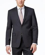 LAUREN Ralph LAUREN Slim BLAZER Gray 48R Wool MENS 2 Button DUAL Vents LINED Man