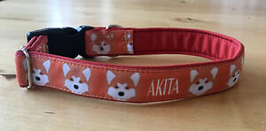 Akita Dog Collar 30mm
