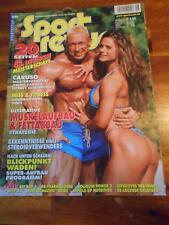 SPORT REVUE bodybuilding muscle magazine MARKUS RUHL & TIMEA MAJOROVA 8-02