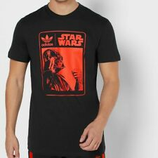 LARGE Men's adidas Originals x Star Wars DARTH VADER T-SHIRT Rare New