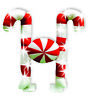 Lighted Christmas Candy Canes Cars & Trucks Decoration Santa Rudolph Reindeer