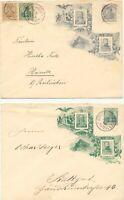 DEUTSCHES REICH 1806-1906 Centenarfeier Königreich Württemberg, Privat-Sonder-GU