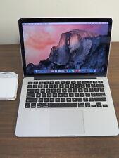 Apple MacBook Pro 13-inch Retina Core i5 2.4GHz / 16Gb RAM / 256Gb SSD