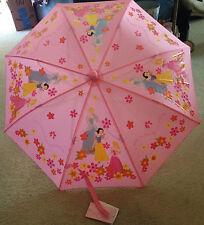 Disney Snow White Childrens Umbrella 100% Nylon Ages 3Yr Safety Construction NWT