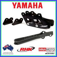 Yamaha Yz250 05 - 07 Rtech Chain Slider & RHK Rear Chain Guide Blue