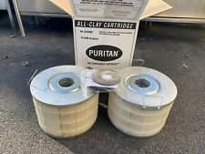 Case Of 2 Puritan All Clay Adsorptive Core Split Filter Cartridge Alc9800 New