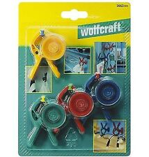 wolfcraft 3663000 Mini Spring Clamps Microfix S (4)