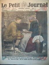 WW 1 U. S. SAMMY ET SORCIERE INDIENNE ALLIéS EN PALESTINE LE PETIT JOURNAL 1918