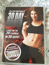 JILLIAN MICHAELS 30 DAY SHRED DVD WORKOUT FITNESS ABS THE BIGGEST LOSER