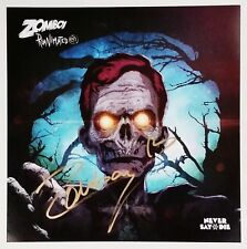 ZOMBOY DJ SIGNED 12X12 REANIMATED EP COVER PHOTO W/COA