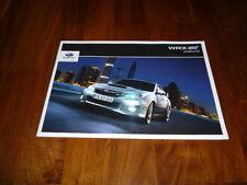 Subaru WRX STI Zubehörprospekt 01/2012