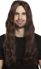 Adultes Hommes Années 70 Lourd Rock Perruque Ozzy Déguisement Hippie Jésus
