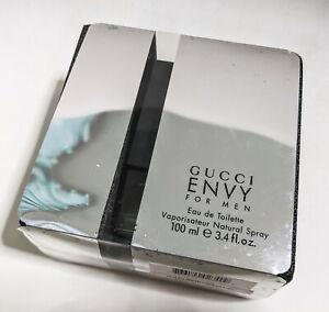 Gucci Envy for Men Eau de Toilette 100ml / 3.4oz spray Free Shipping!