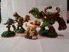 lot of 4 Activision three 2012,one 2014 funny bone 2 1/2 figurines game pieces