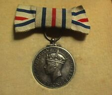 RARE KINGS MEDAL FOR SERVICE IN THE CAUSE OF FREEDOM / ORIGINAL ROYAL MINT CASE.