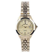 c8544f22955c Croton Women s CN207562YLCD Quartz Diamond Accent Gold-Tone Bracelet 31mm  Watch