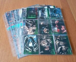 ALIEN LEGACY TRADING CARDS 1-90 BY INKWORKS 1998 COLLECTION