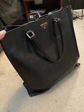 Vintage Authentic Prada Tote Bag Bl