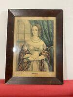 Original Antique CURRIER & IVES 'Nancy' LITHOGRAPH