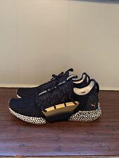 Puma Hybrid Rocket Runner Desert Size 13 Shoes Running Training Gold Black White