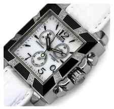 DEDIA Lily MQ Women's Brand New Diamond Chronograph Watch Retails at $1,800.00