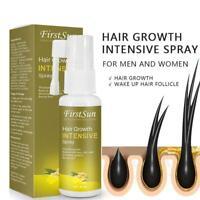 Natural Hair Growth Spray Hair Serum Moisturizing Moisturizing Supple