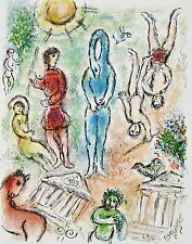 In Hell (The Odyessy), 1989 Limited Edition Lithograph, Marc Chagall