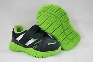 NEW Infant Toddler Sz 4 K ADIDAS G96009 Grey Lime Green Sneakers Shoes