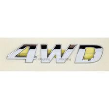 OEM Emblem 4Wheel Drive 4WD For HYUNDAI KIA Universal Vehicles