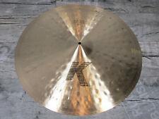"Zildjian K 24"" Light ride regular estados unidos Drums Cymbal pélvico * Primera *"