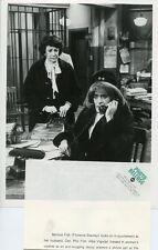 ABE VIGODA AS UNDERCOVER WOMAN FLORENCE STANLEY FISH ORIGINAL 1977 ABC TV PHOTO