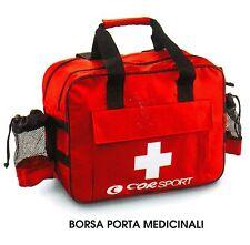 "BORSA PORTA MEDICINALI  PROFESSIONALE ""CORSPORT"" per Calcio, Volley, basket"