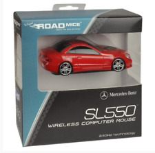 ROADMICE Mercedes-Benz SL550 Wireless Computer Car Mouse RED Official Licensed