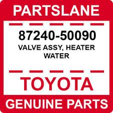 87240-50090 Toyota OEM Genuine VALVE ASSY, HEATER WATER