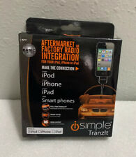 iSimple Tranzlt IS77 Aftermarket iPod and iPhone Audio Input Cable for FM Radios