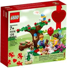 LEGO SEASONAL 40236 - ROMANTIC VALENTINE PICNIC - NEW IN STOCK - MELB SELLER