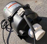 Spa Blower Air pump Multi Fit replace Balboa, SpaQuip, Monarch AMP enclosed spas