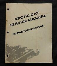 1990 ARCTIC CAT PANTHER PANTERA SNOWMOBILE SERVICE REPAIR MANUAL 140+ pgs NICE