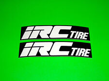 IRC TIRES TUBES MOPED SCOOTER CRUISER MOTORCYCLE ATV MOTOCROSS STICKERS DECALS