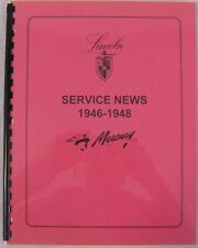 1946 1947 1948 Lincoln, Mercury Service Bulletins