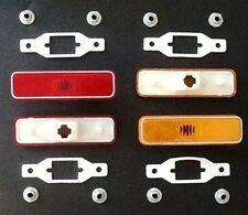 12-pc Genuine MoPar Side Marker Lamp Set w/Gaskets for 1972-1974 E-Body