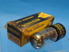 Vintage WESTINGHOUSE 25L6GT  TUBE 真空管 アンプ  Röhre Valvola ** Original Box